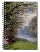 Young Ladies By A River Spiral Notebook