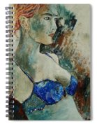 Young Lady 56 Spiral Notebook