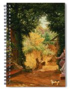 Young Lady Bountiful Spiral Notebook