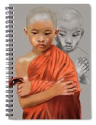 Young Lama Spiral Notebook