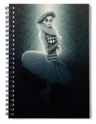 Young Lunar Pierrette Spiral Notebook