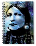 Young Maiden Spiral Notebook