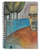 Young Man And The Sea With Trees Spiral Notebook