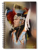 Pow Wow Young Man Spiral Notebook