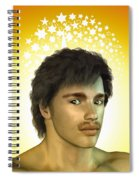 Young Man Spiral Notebook