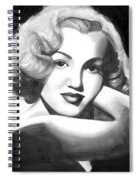 Young Marilyn Spiral Notebook