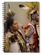 Pow Wow Young Men Spiral Notebook