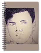 Young Muhammad Ali Spiral Notebook