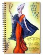 Young Queen Of Space Alien Civilization Spiral Notebook
