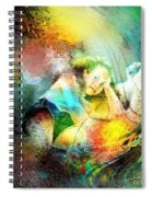 Young Seduction Spiral Notebook