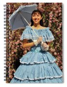 Young Southern Belle Spiral Notebook