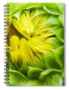 Young Sunflower Spiral Notebook