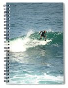 Young Surfers Four Spiral Notebook