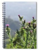 Young Thistles Spiral Notebook