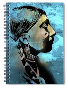 Young Wishram Woman Spiral Notebook