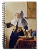 Young Woman With A Water Jug Spiral Notebook