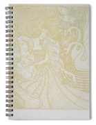 Young Woman With Butterfly Spiral Notebook