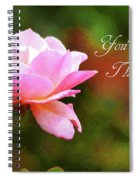 Your In My Thoughts Painting Spiral Notebook