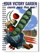 Your Victory Garden Counts More Than Ever Spiral Notebook