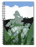 Yucca Blossom Spiral Notebook