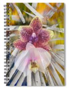 Yucca Dreaming Of Orchids Spiral Notebook