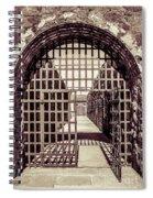 Yuma Territorial Prison Gate Spiral Notebook