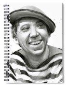 Yuriy Nikulin Portrait Spiral Notebook