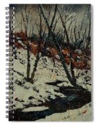 Ywoigne Snow Spiral Notebook