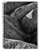 Zabriskie Point Badlands - Death Valley Spiral Notebook