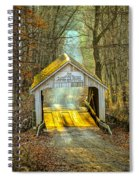 Zacke Cox Covered Bridge Spiral Notebook