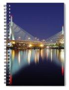 Zakim Aglow Spiral Notebook