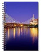Zakim Twilight Spiral Notebook