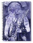 Zakk Wylde - Watercolor 06 Spiral Notebook