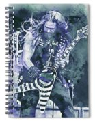 Zakk Wylde - Watercolor 07 Spiral Notebook