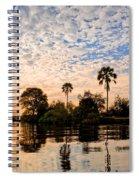 Zambezi Sunset Spiral Notebook