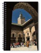 Zaouia El Tijaniya Mosque In Fes Morroco Spiral Notebook