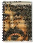 Zappa The Walz  Spiral Notebook