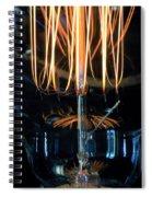 Zapped Spiral Notebook