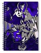 Zazen Jazz Spiral Notebook