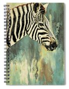 Zebra Abstracts Too Spiral Notebook