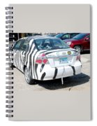 Zebra Car Rear Spiral Notebook