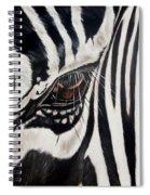 Zebra Eye Spiral Notebook