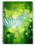 Zebra Masai Mara, Kenya Spiral Notebook