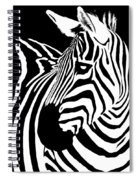 Zebra Works Spiral Notebook