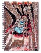 Zebras Eye - Abstract Art Spiral Notebook