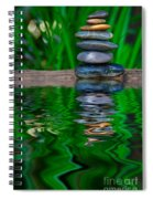 Zen Art And Reflections By Kaye Menner Spiral Notebook