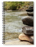 Zen At The Water Spiral Notebook