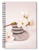 Zen Cherry Blossom Spiral Notebook