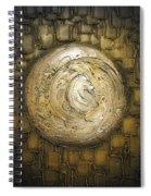 Zen Moon Spiral Notebook