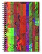 Zen Owl Abundance Spiral Notebook